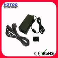 Quality 5.5mmX2.1mm 12V 4A Switching Power Adapter 100-240 AC For CCTV / Notebook wholesale