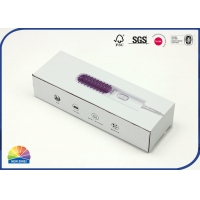 China Custom Printed Corrugated Boxes Hair Curler Straightener Packaging on sale