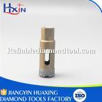 Quality Brazed Diamond Core Drill Bit Diameter for 20mm for Stone/Ceramic/Glass Golden wholesale