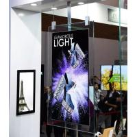 Cheap Fantasy Glass Frame wifi black ultra thin 43 55 inch 2cm thickness dual sided 4K  colorQLED high brighness  Digital Sign for sale