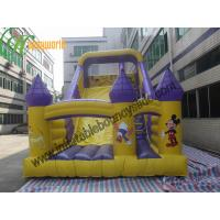 Quality Huge Commercial Outdoor Inflatable Slide / Inflatable Mickey And Duck Slide wholesale