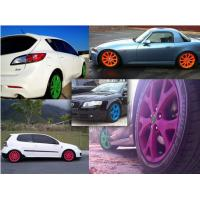 Quality High Gloss Auto Spray Paint / Red Rubber Car Paint Spray Can Impact Resistance wholesale