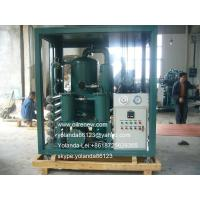 Quality Weather-Proof (Enclosed Type) Vacuum Dielectric Oil Filtering Unit   Transformer Oil Purification Machine wholesale