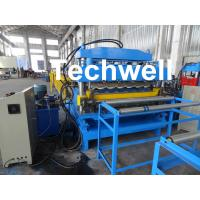 Quality Steel Double Layer Roof Roll Forming Machine / Roofing Sheet Roll Forming Machine wholesale