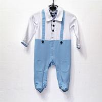 Quality New arrival hot sale 2014 top quality designer a-marni baby's short cotton Clasp jumpsuits wholesale