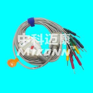 Magaoyi 10 leads Din EKG Cable