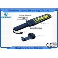 Quality Security Hand Held Metal Detector Wand / portable metal detector body scanner High Stability wholesale