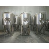 Buy cheap Sus304 Stainless Steel Beer Fermenter 20bbl Capacity With 2 - 5 Bar Pressure from wholesalers