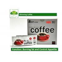 Quality Natural Plant Extract Brazilian Slimming Coffee , 5 In 1 Fat Burning Coffee OEM / ODE wholesale