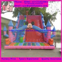 China Good quality commercial inflatable vagina slide , giant inflatable slide for adult on sale