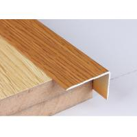 Cheap Industrial 30 X 50 Aluminium Angle Profiles Wood Grain Transfer Printing for sale