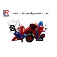 Quality Agricultural Machinery 9HP Mini Combine Harvester with air cooled diesel engine wholesale