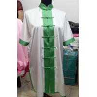 Quality kungfu uniform with green buttons wholesale