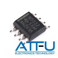China Dual Channel Operational Amplifier IC , 10 MHz Low Noise Op Amp IC NE5532DR on sale