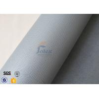 Quality Exchanger Thermal Insulation Materials , 1050gsm Silicone Coated Fiberglass Cloth wholesale
