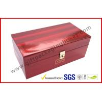 China High Glossy Printed Win Gift Box Locked System with Thermocol Plastic Tray on sale