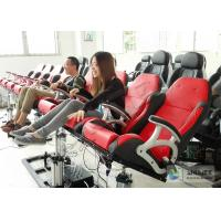 Quality Electronic Dynamical 4D Cinema Equipment With 100 Seats in Red wholesale