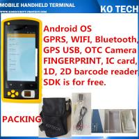 Quality KO-HM606 Handheld Rfid Fingerprint Sensor Barcode Reader wholesale