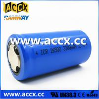 Quality rechargeable battery ICR26500 3.7V 3200mAh wholesale