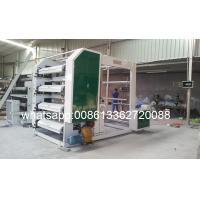Quality Polyethylene / Polypropylene Bag 2 / 4 / 6 Color Flexo Printing Machine With Cutter wholesale
