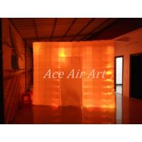 Quality Ace Air Art 3mL x3mW x2.4m H led lighting inflatable photobooth for rental to Renioun wholesale