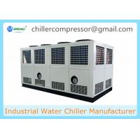Buy cheap Siemens PLC Control 100 tons Air Cooled Screw Water Chiller with Variable Water Pumps from wholesalers