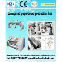 Quality Two Ply Corrugated Carton Packing Machine with Single Facer Production Line , 1600mm wholesale