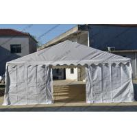 Quality 6 X 12m Outdoor Event Tent White Color Pvc Cover With Transparent Church Windows wholesale