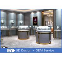 Quality 3D Design Store Jewelry Display Cases In Custom Size Logo / Jewellery Shop Furniture wholesale