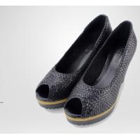 Quality suede leather high heel women dress shoes manufacturer wholesale