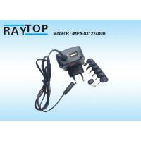 Quality Multiple Output 3, 4.5, 5, 6, 7.5, 9, 12.0 V Universal Wall Adapter 2000mA 24W wholesale