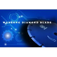 Quality diamond blade for stone cutting -wanlong diamond blade warehouse in china - diamond blade knives for stone slab and tile wholesale