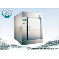 Quality Saturated Steam Pre Heating CSSD Sterilizer With Strong Post Dry Function wholesale