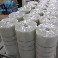 Quality 10x10mm White Color 110 g/m2 Fiberglass Mesh For Marbles , Long Service Life wholesale