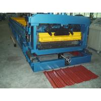 380V Tile Roll Forming Machine 1200mm Width Step with Hydraulic Station