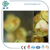 Quality Clear / Tinted Frosted Patterned Glass , translucent patterned window glass wholesale