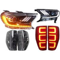 China Yellow Turn Signal LED Head Lamp Assy and Tail Lamp Assy for Ford Ranger T7 2015 on sale