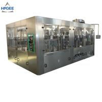 Quality Automatic 3 In 1 Monoblock Beer Filling Machine Production Line 50 - 80mm Bottle Diameter wholesale