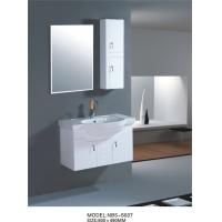 Quality Various size restroom vanity cabinets , narrow bathroom wall cabinet soft closer with drawer wholesale