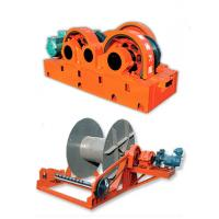 Quality 220V ~ 440V Fast Speed Electric Wire Rope Winches , Large Tonnage Windlass wholesale
