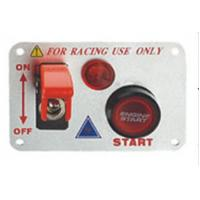 Quality 12 Volt Power Speediness Racing Car Switch Panel With Red Indicator Light wholesale