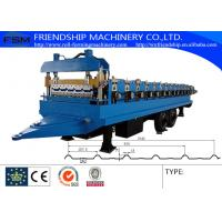 Quality 45# Steel Ibr Sheet Roll Forming Machine With Hydraulic Cutting System wholesale