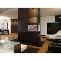 Quality High Efficiency Direct Vent Corner Gas Fireplace / In Wall Gas Fireplace wholesale