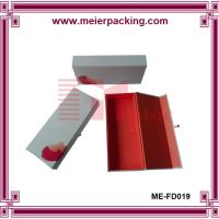 Quality Solid paper scarves box/Jean packaging cardboard box/Clothing foldable paper box ME-FD019 wholesale