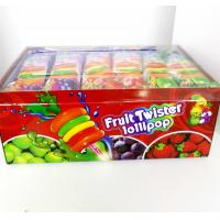 Buy cheap Colorful Multi Fruit Flavor Twist Lollipop with Fluorescent sticks sweeet and healthy from wholesalers