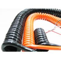 Quality Coiled Power Cord Spring Coiled Electrical Wire For Signal Transmission wholesale