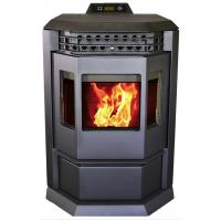 Cheap Energy Saving Pellet Burning Fireplace , High Efficiency Pellet Stove Without for sale