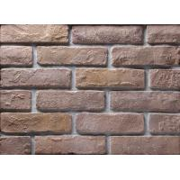Quality Decoration Wall Thin Veneer Brick , Antique Texture Fire Clay Bricks For Building wholesale