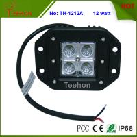 Professional Flush mount 12W off Road 4X4 CREE LED Work Light with IP67, CE, RoHS