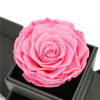 Quality Decoration Valentines Flowers In A Box , Two Side Open Custom Rose Box wholesale